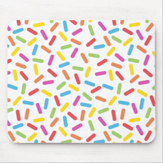 Rainbow Sprinkles Mouse Pad