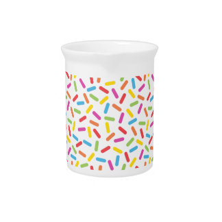 Rainbow Sprinkles Pitcher