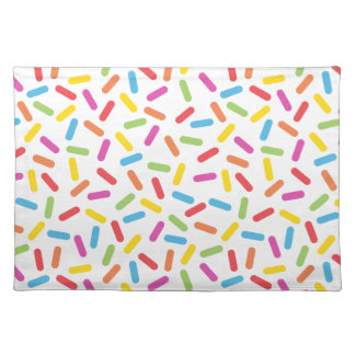Rainbow Sprinkles Placemat