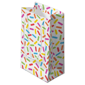 Rainbow Sprinkles Small Gift Bag