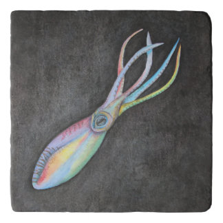 Rainbow Squid Trivet