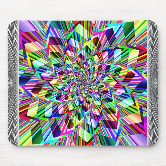 Rainbow Squiral Mousepad