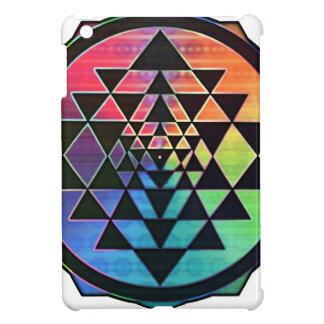 Rainbow Sri Yantra for Prosperity & Love iPad Mini Cover