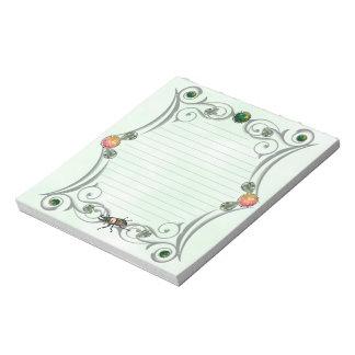 Rainbow Stag Beetle Notepad