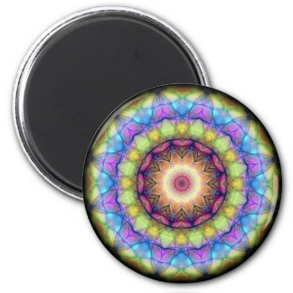 Rainbow stained Glass Magnet