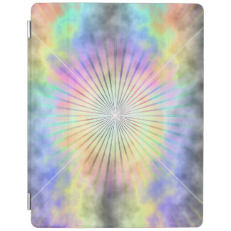 Rainbow Star Burst Horizon iPad Cover