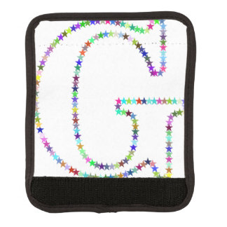 Rainbow Star Letter G Luggage Handle Wrap