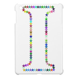 Rainbow Star Letter I Case For The iPad Mini