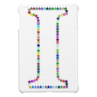 Rainbow Star Letter I Case For The iPad Mini