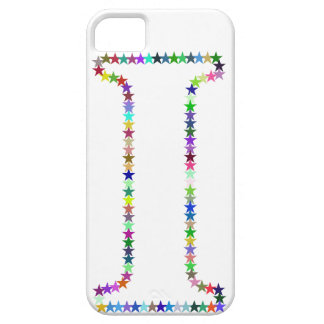 Rainbow Star Letter I Case For The iPhone 5