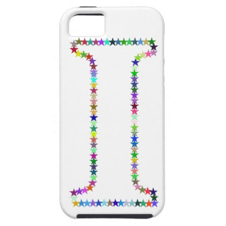 Rainbow Star Letter I iPhone 5 Cover