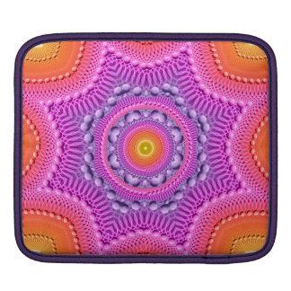 Rainbow Star Mandala iPad Sleeves