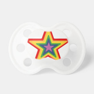 Rainbow Star Pacifier