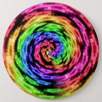 Rainbow Star Vortex Circle Buttons