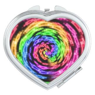 Rainbow Star Vortex Compact mirror