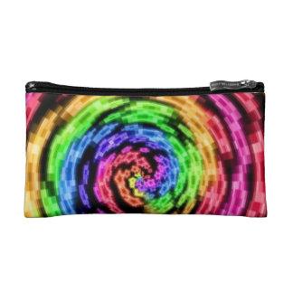 Rainbow Star Vortex Cosmetic Bag