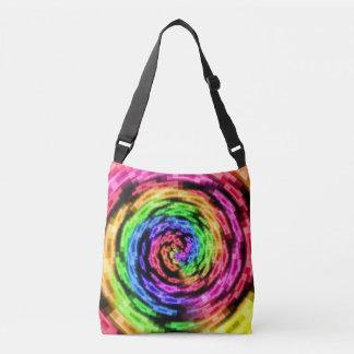 Rainbow Star Vortex Cross-Body bag