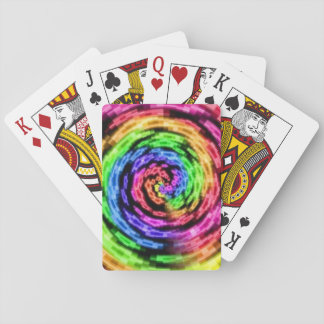 Rainbow Star Vortex Playing Cards