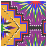 Rainbow Starburst Fabric