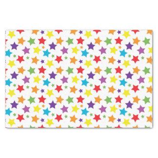 Rainbow Stars Tissue Paper