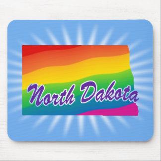 Rainbow State Of North Dakota Mouse Pad