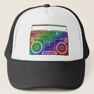 Rainbow Stereo Trucker Hat