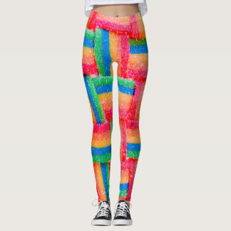 Rainbow Stitch Leggings