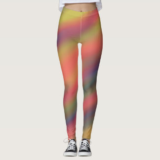 Rainbow Streaks Leggings