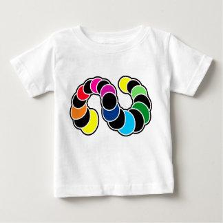 Rainbow strip baby T-Shirt