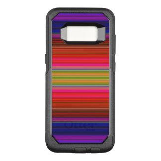 Rainbow Stripe OtterBox Samsung Galaxy S8 Case