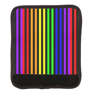 Rainbow Striped Luggage Handle Wrap