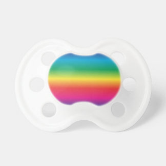 Rainbow Striped Pacifier