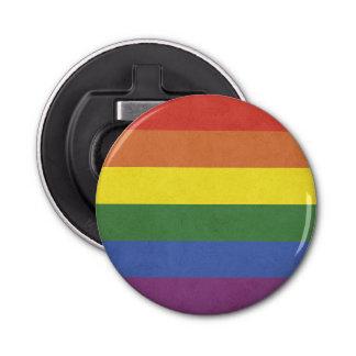 Rainbow stripes bottle opener