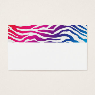 Rainbow Stripes Business Card