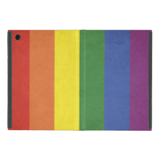 Rainbow stripes case for iPad mini