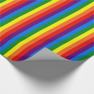 Rainbow Stripes Gay Pride LGBT Support