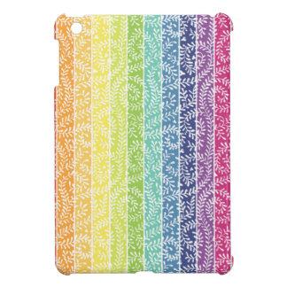 Rainbow Stripes iPad Mini Cases