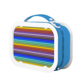 Rainbow Stripes Lunchbox