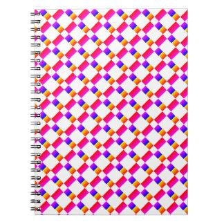 Rainbow Stripes Spiral Notebook