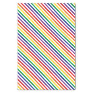 Rainbow Stripes Tissue Paper