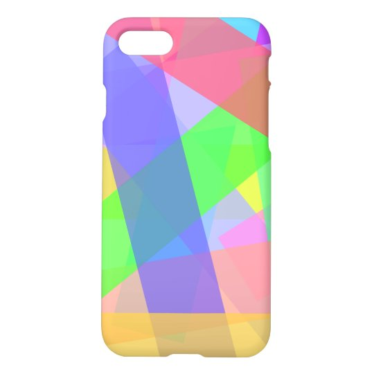 Rainbow Strips Pattern iPhone 7 Case