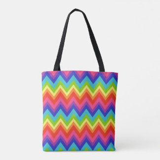 Rainbow Summer Beach Travel Tote Bag Gift