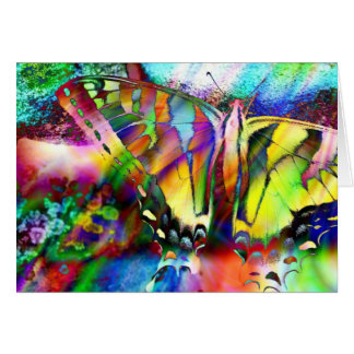 Rainbow Swallowtail Card