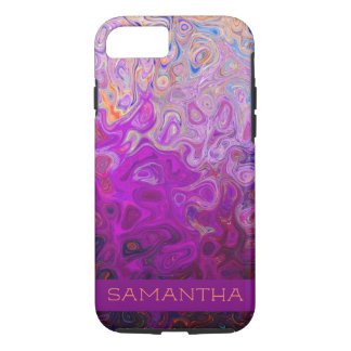 Rainbow Swirl Apple iPhone Case 8/7, Tough