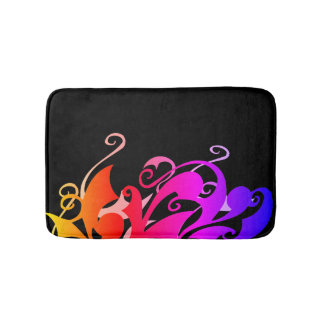 Rainbow Swirl Bath Mat
