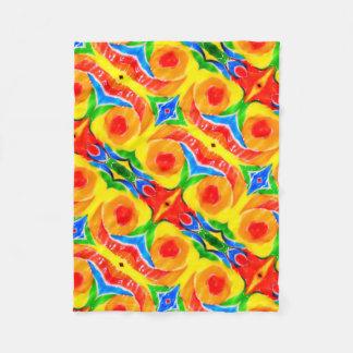 Rainbow Swirl Blanket