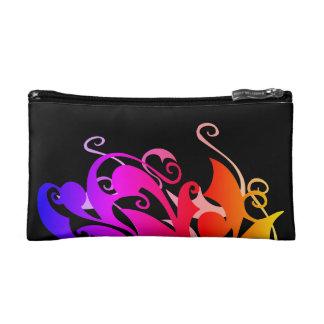 Rainbow Swirl Cosmetic Bag