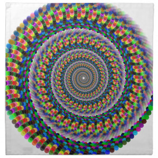 Rainbow Swirl Napkin