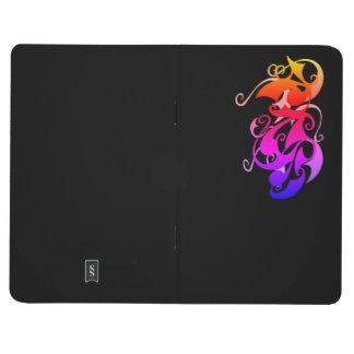 Rainbow Swirl Pocket Journal