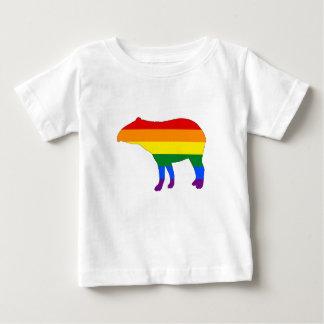 Rainbow Tapir Baby T-Shirt
